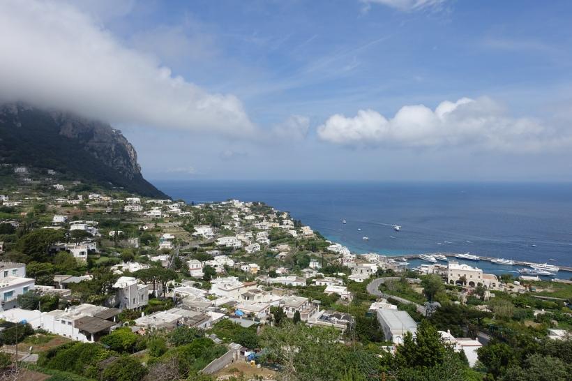 The island of Capri, Italy.