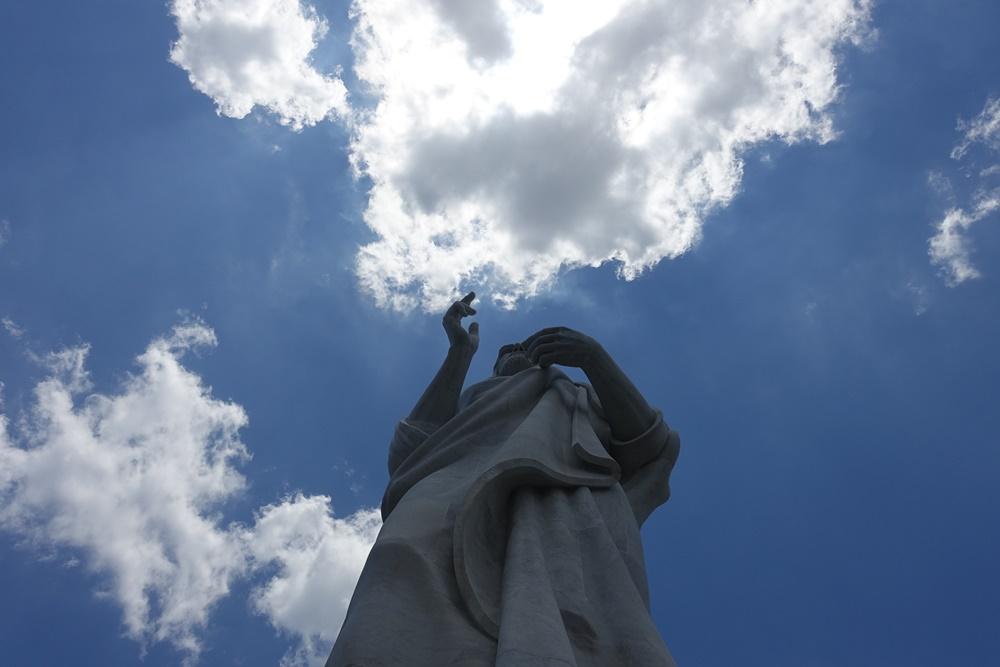 Havana, Cuba's version of the Christ Redeemer statue, built by a woman!