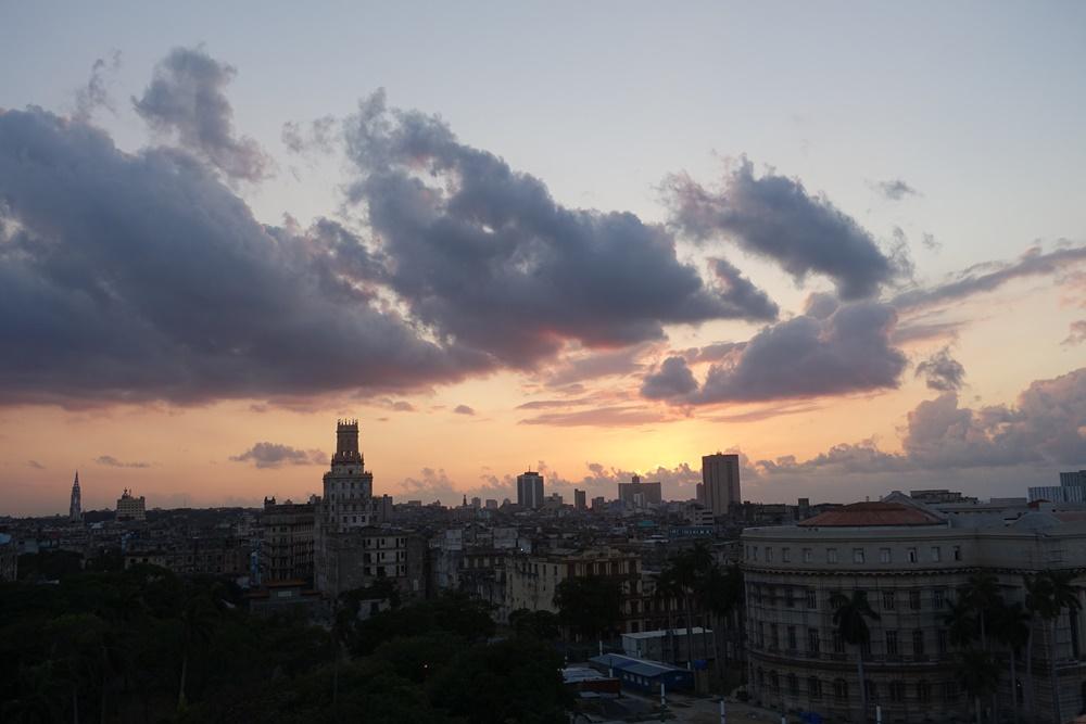 Saratoga sunsets. Havana, Cuba.