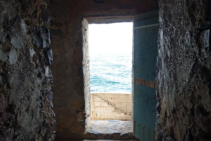 The door of no return.