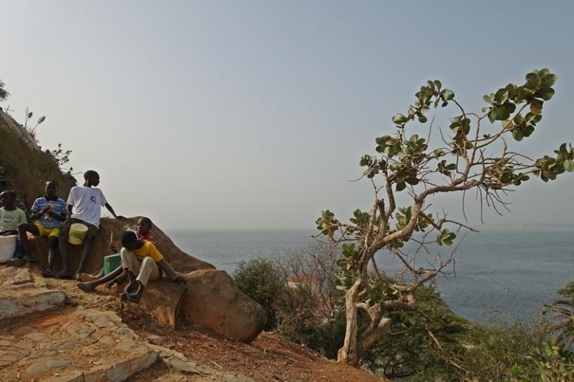 Goree Island on Senegal.