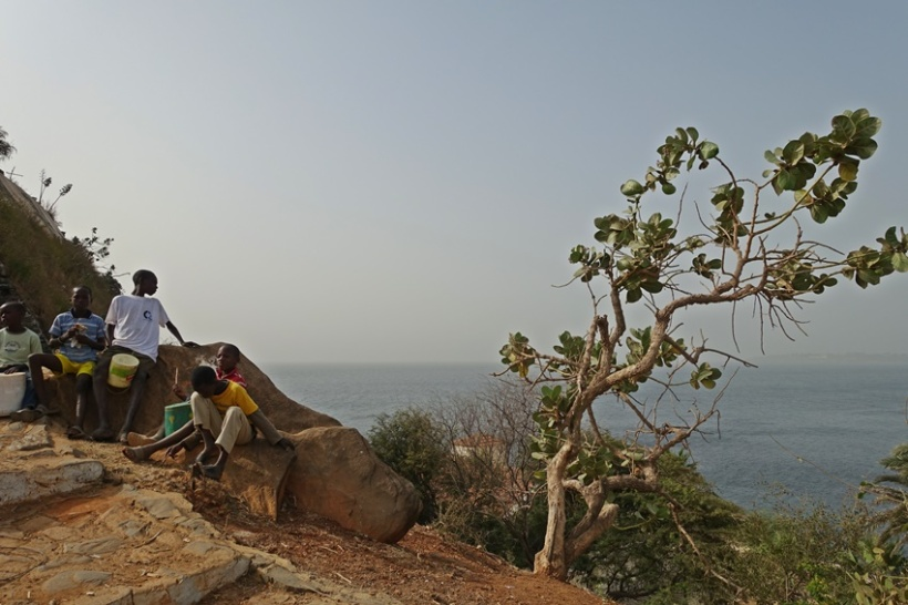 Goree Island on Senegal.